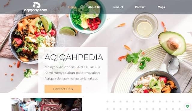 jasa pembuatan website landing page web keren profesional